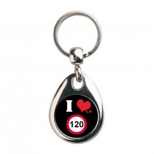Llavero I love 120