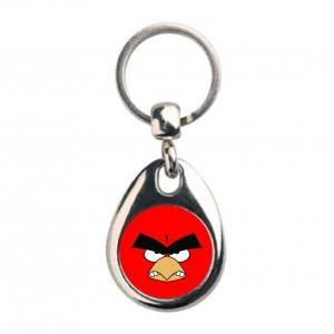 Llavero Angry Rojo