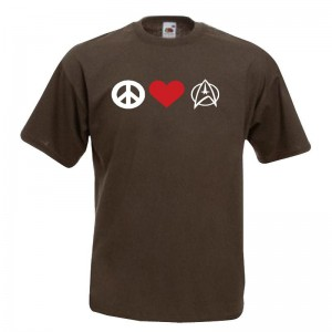 Paz Amor Star Trek