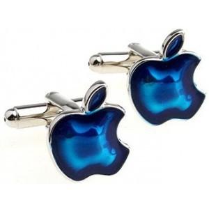 Gemelos Manzana Apple azul