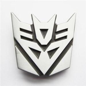 Hebilla Transformers Decepticons