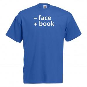 menos face  mas book