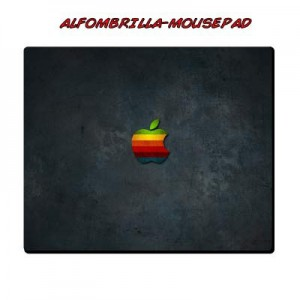 Alfombrilla Apple Black
