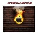 Alfombrilla Apple Fuego