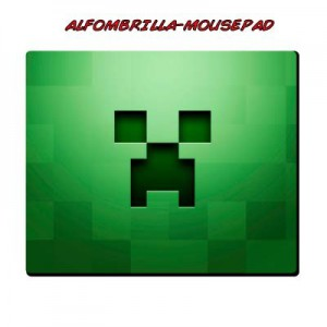 Alfombrilla Creeper Minecraft