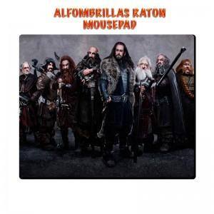 Alfombrilla El Hobbit Enanos