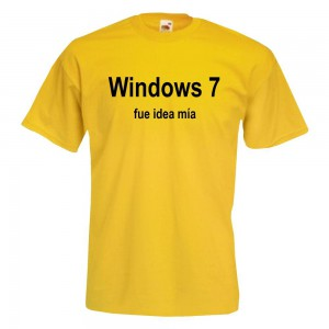 Windows 7 fue idea mia