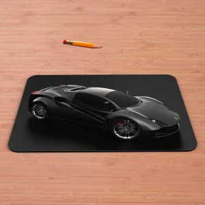Alfombrilla Ferrari Black Concept
