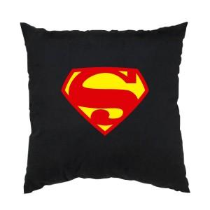 Cojín Superman primer logo