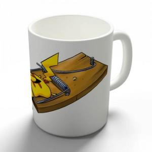 Taza Trampa Pikachu