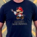 Camiseta Mario Bros Rock Festival