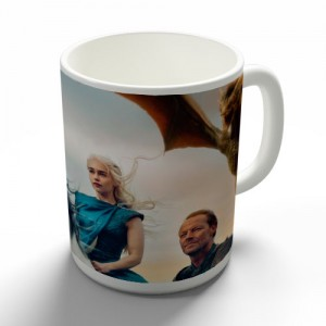 Taza Khaleesi Dragones