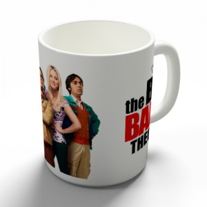 Taza Big Bang Theory Personajes