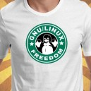 camiseta Linux Freedom