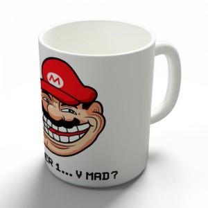 Taza Meme Mario