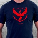 camiseta Equipo Valor Pokemon Go
