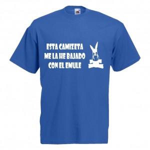 Esta camiseta me la he bajado con el emule