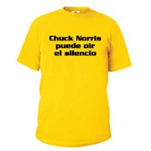 Chuck Norris oye el silencio