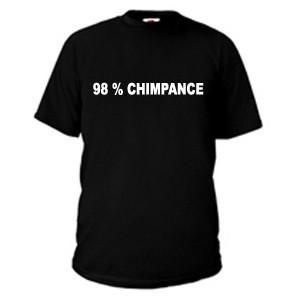 98% chimpance