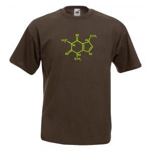 Molecula de la cafeina