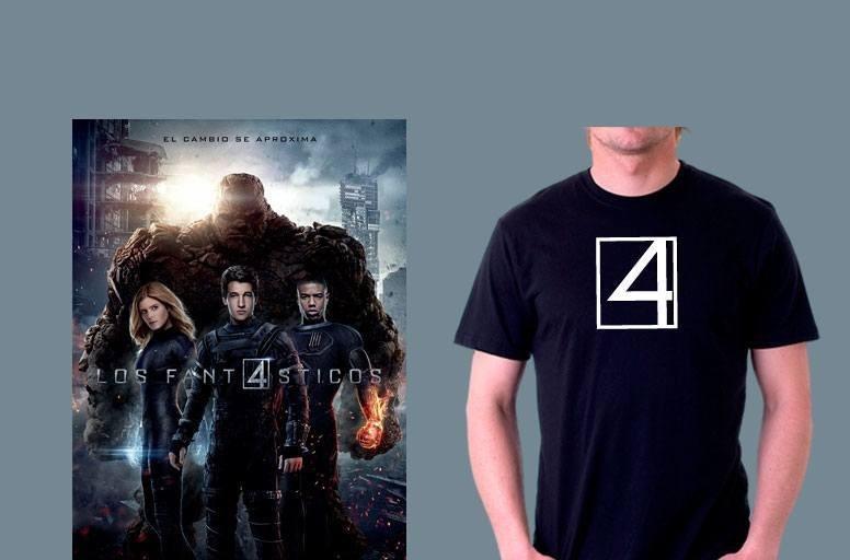Camiseta 4 Fantasticos